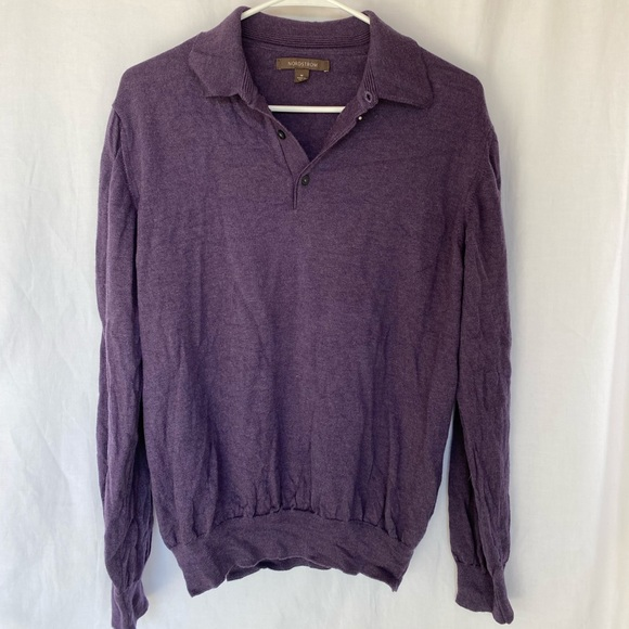 Nordstrom brand long sleeve polo
